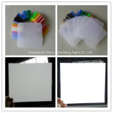 단백석 White 및 Milky White LED Plastic Light Diffuser Sheet