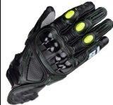 Guanti di cuoio puri che corrono i guanti del motociclo