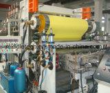Protuberancia de la hoja de la tarjeta del PVC del plástico (imitación artificial) y máquina de mármol de la fabricación