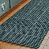 Blockierenentwässerung-Gummiküche-Matte, Küche-Gummi-Matte