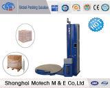 Máquina automática de empacotamento de paletes pré-estiramento