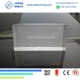 Bereiften festen transparenten Glasblock für Glaswand löschen