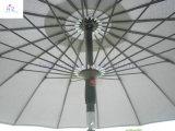 Parasol Extérieur de Parapluie de Plage de Parapluie de Parapluie de Poussée de Main de Parapluie Des Fibres de Verre 18ribs de 9ft