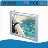 Aluminium Indoor LED Paper Change Slim Light Box