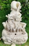 Мрамора Polyresin фонтаном в Саду W/светодиодный индикатор
