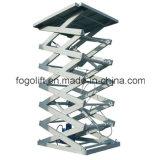 Levage stationnaire hydraulique de ciseaux pour le Workhouse Using