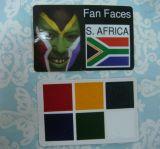 월드컵 얼굴 페인트 카드