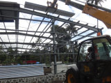 Estructura de acero de la construcción del edificio de logística de almacén