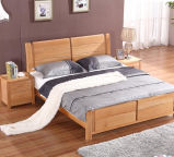 Festes hölzernes Bett-moderne doppelte Betten (M-X2257)