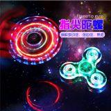 Adulte Roulement Cristal Luminous Lighting LED Hand Fidget Jouets Spinners