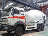 Shacman 340HP 6cbm Concrete het Mengen zich van het Cement Vrachtwagen