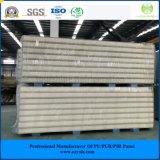 ISO, SGS 75мм оцинкованной стали PIR Сэндвич панели для мяса/ овощей/фруктов