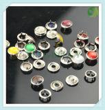 Bouton d'anneau de retenue de métal-O Style Style ou de W