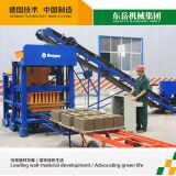 Blocchetti automatici del cemento Qt4-25 che fanno pianta