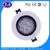 Fábrica de China a bajo precio LED 3W de luz de techo hacia abajo