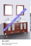 현대 단단한 나무 목욕탕 내각 (MJ-301)