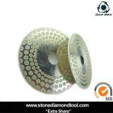 Electroplated lame/lame de scie de coupe de marbre