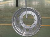 관이 없는 Steel Truck Wheel Rim (19.5X7.50 22.5X8.25 22.5X9.00 22.5X11.75)