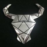 Aleación de zinc Insignia de metal 3D