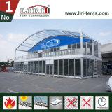 Geschichte-doppelter Decker-Festzelt-Zelt-Zelle der Abdeckung-Form-zwei