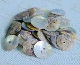 Vintage Rio Personalizados Botão Botão Shell Agoya Shell