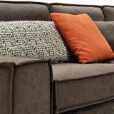 Sofá secional do projeto moderno com tela de imitação da alta qualidade do algodão para a sala de visitas Furniture-G7601