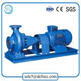 Pompe marine centrifuge d'évacuation d'aspiration horizontale de fin de moteur électrique