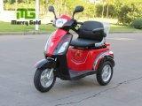 Motorino elettrico Handicapped della rotella della sede tre del cantante