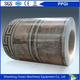 Las bobinas de la protección del medio ambiente PPGI/prepintaron las bobinas de acero galvanizadas/las bobinas de acero cubiertas color para el material de Buidling
