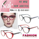 De nieuwe Model Productie van China Eyewear van de Glazen van het Oog van de Kat van de Glazen van het Frame Eyewear