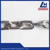 4mm16mm de Keten van de Link van het Roestvrij staal Nacm90