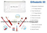 Escova Dental Kits Orthodotnic com cera