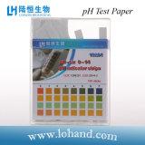 Papel de prueba universal del Rapid pH pH 1-14
