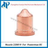 Pijp 220819 de Maximum 85 Verbruiksgoederen van de Scherpe Toorts van het Plasma Forpower 65A