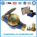 Dn50 (2'' pouce) du connecteur de compteurs d'eau en laiton pour compteur d'eau en laiton