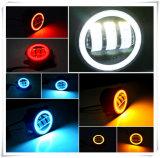 포드 차를 위한 싼 LED 안개등, 달무리 반지, 차를 위한 30W LED 안개 램프를 가진 4 인치 LED 안개등