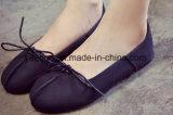 Het Meisje/de Dames van de Schoenen van de vrije tijd stellen zich de Toevallige Schoenen van de Sprekers van Schoenen voor