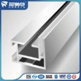 Perfil de alumínio anodizado personalizado para o frame de painel de alumínio da eletricidade