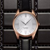 Vigilanza all'ingrosso di lusso del nuovo di disegno 376 orologio di modo per gli uomini