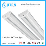 1FT 7W 두 배 LED 관 전등 설비 T5는 가벼운 이음쇠 UL ETL Dlc 세륨 RoHS 관 이중으로 한다