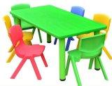 유아원 가구 아이 연구 결과 테이블과 의자