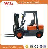 2,5 Ton Melhor Diesel empilhadeira preço com câmbio manual