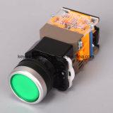 Interruttore di pulsante illuminato 22mm della scanalatura (LA118MLN)