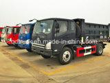 디젤 엔진 가벼운 팁 주는 사람 화물 자동차 6 바퀴 덤프 트럭 경트럭