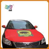 Coperchio su ordinazione del cappuccio dell'automobile della bandiera nazionale dello Spandex 4*6 di Huiyi esterno