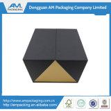 Luxuxverpackungs-Papierkasten-Wein-Charme, der schwarzen Glas-Kasten verpackt