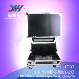 Neues IP65 120PCS 10W LED Stadt-Farben-Licht RGBW imprägniern im Freien Wand Easher des Licht-LED drahtloses wahlweise freigestelltes