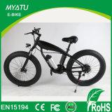 Bicyclette électroménager électrique de montagne de 26 pouces avec moteur sans engrenage 500W