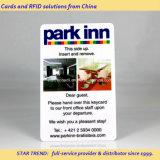 Carte clé en PVC avec une bande magnétique Loco (ISO 7811) pour l'hôtel