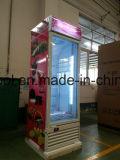 En position verticale congélateur Showcase /porte en verre verticale / frigo congélateur porte en verre